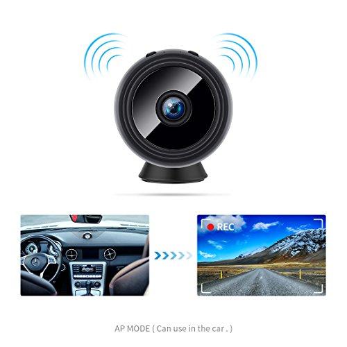 FREDI HD1080P WIFI telecamera Spia videocamera nascosta Microcamera Wireless Mini Camera spia microtelecamera wifi Hidden Spy Cam Videocamera di sorveglianza Interno IP telecamera di sorveglianza - 2