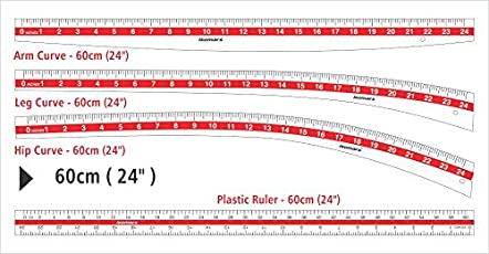 Isomars Fashion Designing Scale Set of 4