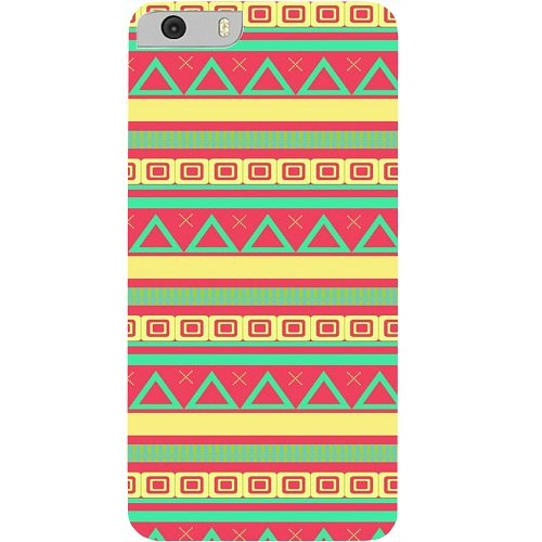 Casotec Vintage Pattern Design Hard Back Case Cover for Micromax Canvas Knight 2 E471