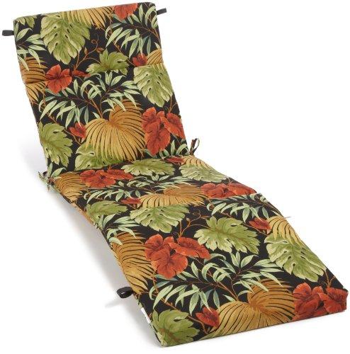 Poly-nadel (Blazing-Nadeln gesponnen Poly (61cm) von (von 3–1/2Zip beständig gegen UV-alle Wetter Chaise Lounge Kissen Tropique Raven)