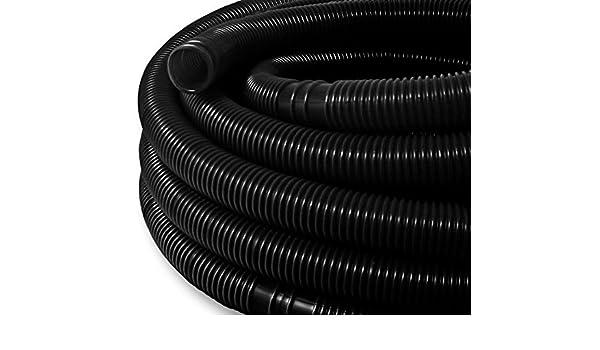 well2wellness /® 6/m Solar Tube 38/mm Black Pool Hose 38/mm