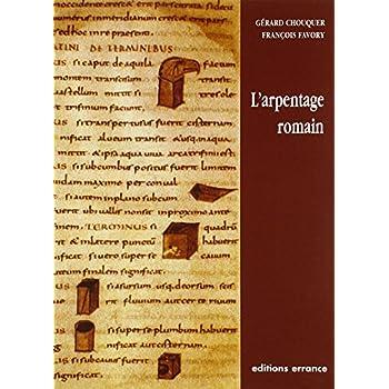 L'arpentage romain