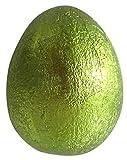 """Deko-Ei """"Metallic XXL"""", Grün Türkis oder Pink Ei groß bunt Ostereier Dekoei Osterdeko schimmern modern ausgefallen (Metallic Grün)"""