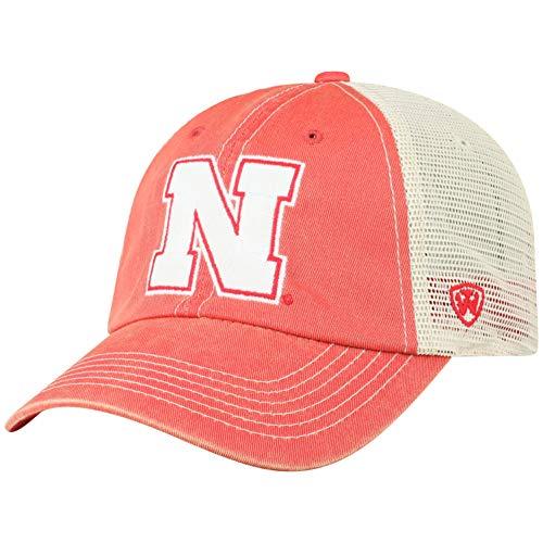 ren Mütze NCAA Vintage Team Icon verstellbar, Herren, NCAA Men's Vintage Mesh Adjustable Icon Hat, Nebraska Cornhuskers Red, Einstellbar ()