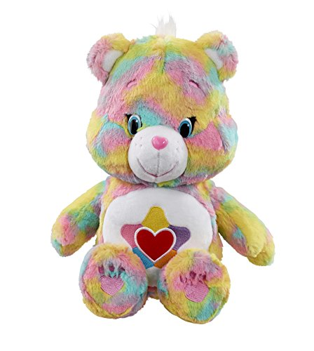 vivid-imaginations-care-true-heart-bear-plush-toy-with-dvd-medium-multi-colour