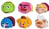 Conjunto Completo 6 Mini Peluche Muppets 8cm Tsum Tsum Disney Original...