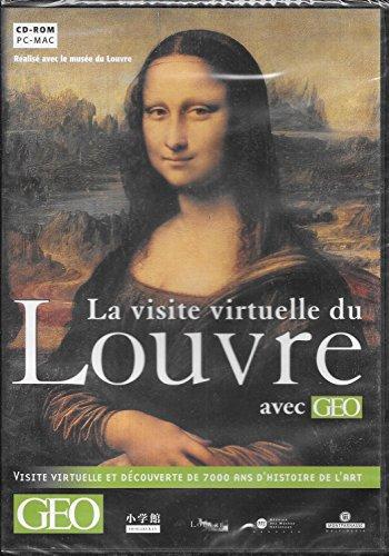 Le Louvre visite virtuelle. : DVD-ROM par GEO