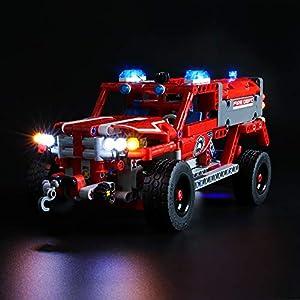 LIGHTAILING Set di Luci per (Technic unità di Primo Soccorso) Modello da Costruire - Kit Luce LED Compatibile con Lego… 0781621988440 LEGO