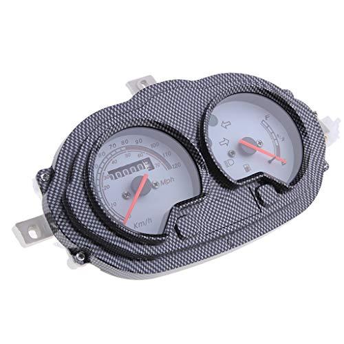 B Blesiya 1 Stück Tachometer Gauge Instrument Motorrad digital Tachometer Gauge Tacho Tachometer Instrument