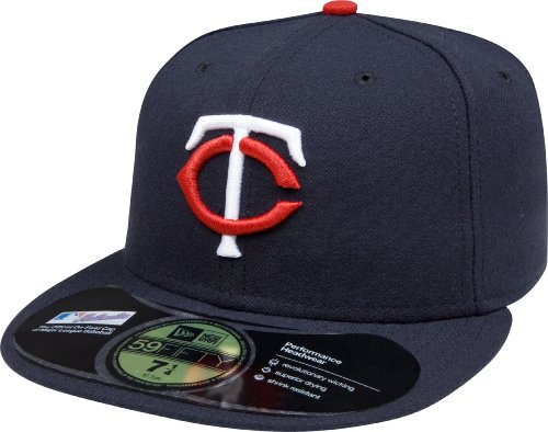 New Era MLB Home Authentic Collection On Field 59 FIFTY Fitted Cap, Herren, Minnesota Twins Minnesota Twins-ausrüstung