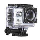 Andoer AN4000 4K 30fps 16MP WiFi Action Cam Sportkamera-1080P 60fps Full HD 4X Zoom Wasserdicht 40m 2 Inch LCD-Bildschirm 170 ° Weitwinkelobjektiv Zeitlupe Drama-Fotografie Fernbedienung