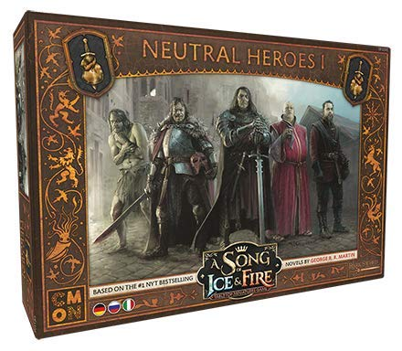 A Song of Ice & Fire - Neutral Heroes 1 (Neutrale Helden 1) Erweiterung Multi = DE/IT/RU