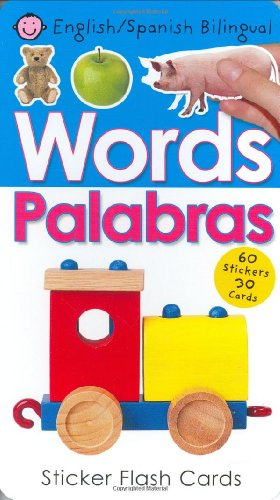 Words/Palabras: Sticker Flash Cards [With 60 Stickers] por Roger Priddy
