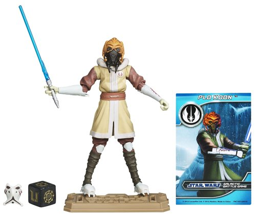 Star Wars Clone Wars Plo Koon Action Figure