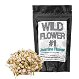 Gifts Flowers Food Best Deals - Dried Jasmine Flowers Perfect for Homemade Tea, Potpourri, Bath Salts, Gifts, Crafts, Wild Flower #1 (4 ounce) by Wild Foods