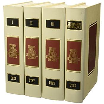 Storia Della Civiltà Letteraria Inglese [4 Volumi]