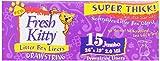 Best Cat Box Liners - Fresh Kitty 15ct Super Thick Jumbo Drawstring Litter Review