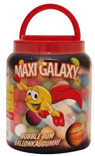 DOK Maxi Galaxy Kaugummi-Kugel, 1er Pack (1 x 1.236 kg)
