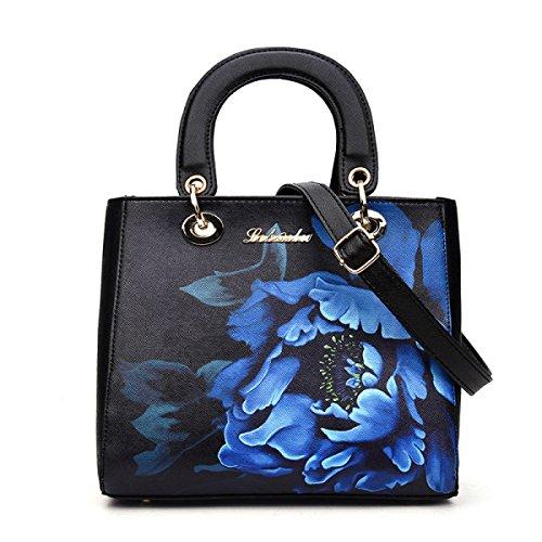 KYFW Womens Art Und Weisehandtaschen-Schulter-Handtaschen-diagonales Kreuz-kleiner Quadratischer Beutel C