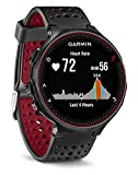 Garmin Forerunner 235 GPS Running Watch with Elevate Wrist Heart Rate and Smart Notifications - Black/Marsala Red image