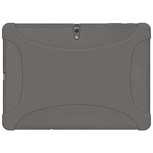 Amzer Exclusive Custodia in Silicone per Samsung GALAXY Tab S 10,5 SM T805/T800 - grigio
