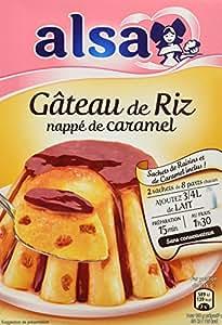 Caramel pour gateau de riz