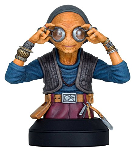 STAR WARS Maz Kanata Mini Bust Statue