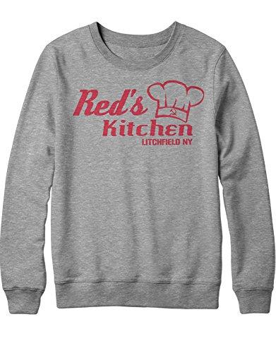 Sweatshirt Orange is The New Black RED'S Kitchen C210049 Grau ()