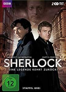 Sherlock - Eine Legende kehrt zurück! Staffel drei 2 DVDs