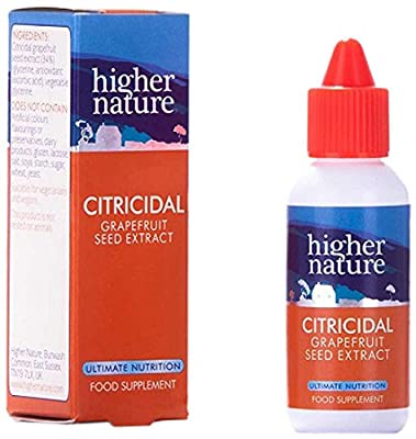 Higher Nature 45ml Citricidal Liquid from Higher Nature