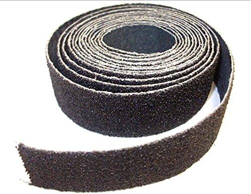 Innovo Schleifpapierrolle, 5 m, Körnung 150, 25 mm, für Holz, Kunststoff, Metall, Blau