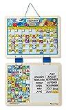 #10: Melissa & Doug Monthly Magnetic Calendar, Multi Color