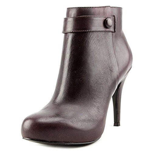 Nine West Go With It Cuir Bottine Mochaci