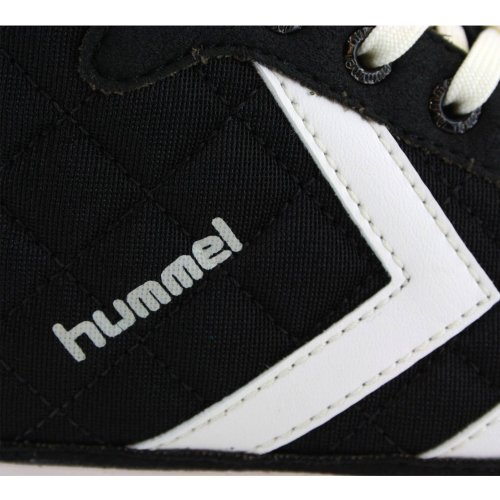Hummel Miss Stadil Quilted High Damen Sneakers Schwarz/Weiß