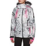 Superdry Ultimate Snow Action Chaqueta, Mujer, Frosted Geo Mountain, 8