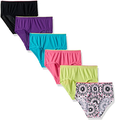 Fruit of the Loom Girl's Underwear Pack of 6