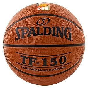 Spalding Basketball TF150 DBB Out 83-104z Ball, orange, 7