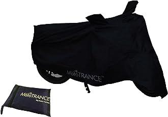 Mototrance Bike Body Cover for Bajaj Pulsar 150 (Black)