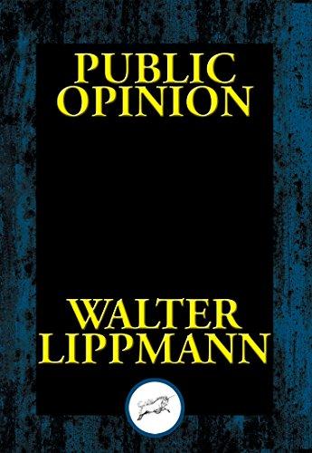 public opinion by walter lippmann summary