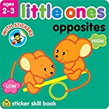 Little Ones Sticker Skill Book-Opposites - Ages 2-3