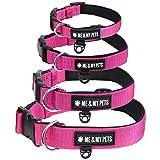 Me & My Pets Gepolstertes Neopren-Hundehalsband in Pink