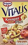 Dr. Oetker Vitalis KnusperPlus Multi-Frucht: Knuspermüsli mit einer Auswahl erlesener Früchte, 7er Packung (7 x 450g)