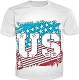 100ANB - AMERICAN US STARS & STRIPES FLAG (3 - 3B) - ILLUSTRATION - UNITED STATES OF AMERICA - USA - FLAG COUNTRY WORLD - GRAPHIC PRINTED DRIFIT DRYFI