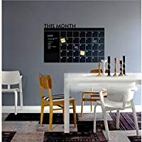 TYKCRt Wall Sticker This Month Calendar Chalkboard S Carved Trade Explosions Pcs The Blackboard S