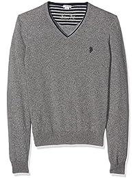 U.S.POLO ASSN. Jesse V Knit, Camiseta Térmica para Hombre