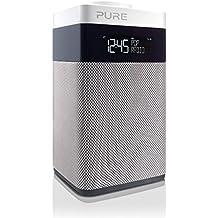 Pure POP Midi BT Radio (DAB/DAB+ Digital- und UKW-Radiowecker mit Bluetooth) weiß