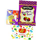Harry Potter Bertie Bott's Every Flavour Jelly Belly Beans BeanBoozled Assorted flavour Selection Gift American Box Bag regalo de cumpleaños americana