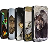Stuff4 Coque/Etui/Housse Cuir PU Case/Cover pour Samsung Galaxy S8 Plus/G955 / Multipack (20 Pck) Design / Animaux sauvages Collection