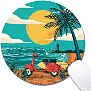 Customized Printed Lemon Mountain Mouse Pad Ergonomic Computer Mouse Pad (9.5x7.9x0.1inch) Extended Gaming Mou