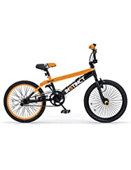 MBM Instinct 20 BMX Freestyle Color Negro y Naranja